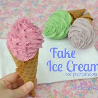 Fake Ice Cream tutorial